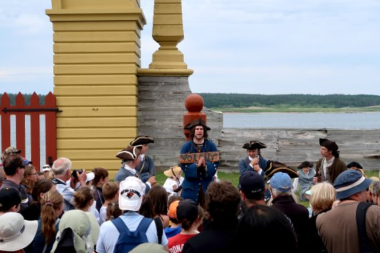 Louisbourg, Kanada: The thief begs forgiveness.