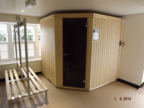 Jersey Accommodation and Activity Centre: Sauna room