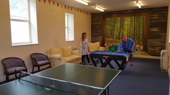 Jersey Accommodation and Activity Centre: Games room