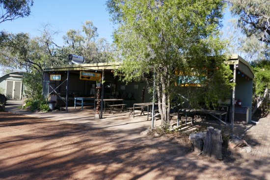 Miles, Australia: Camp kitchen