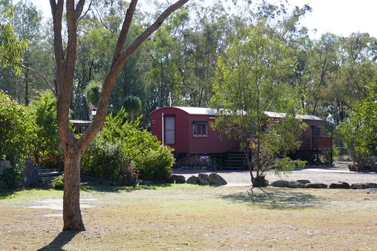 Miles, Australia: Railway carriage accommodation
