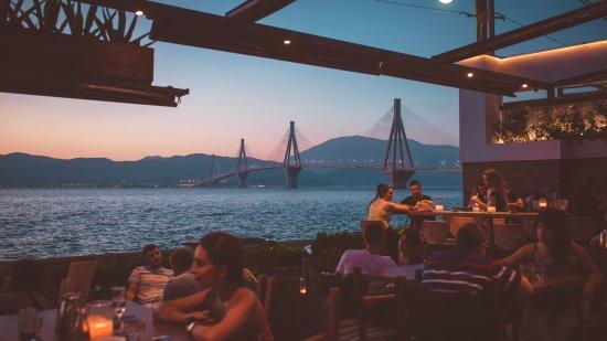 Rio, Yunani: sunrise