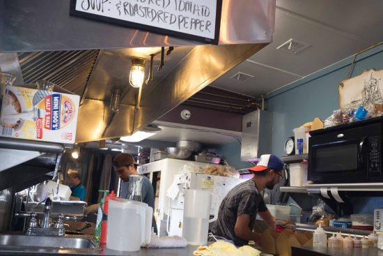 Smoke Shack: It's a tiny space but they turn out big food