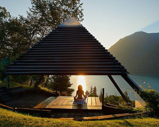 Cima, Italy: Meditation Pavilion