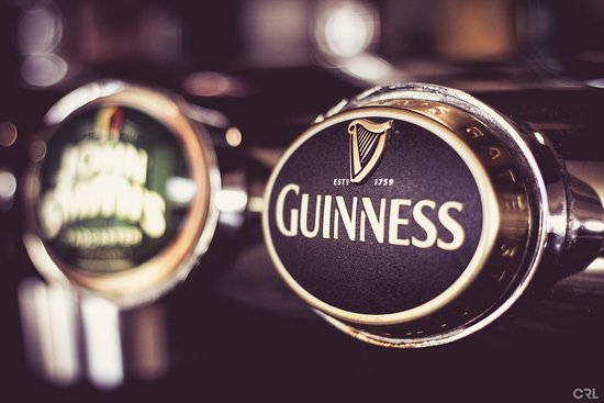 """Bishop Auckland, UK: """"The Town's Best Pint Of Guinness"""""""