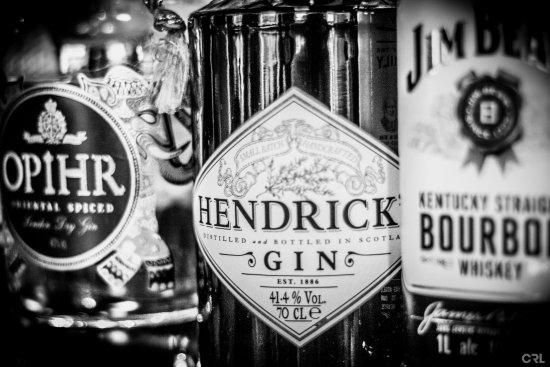 Bishop Auckland, UK: Hendrink's Gin