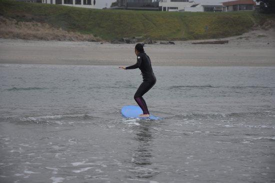 Mount Maunganui, นิวซีแลนด์: Wellen auch für Anfänger