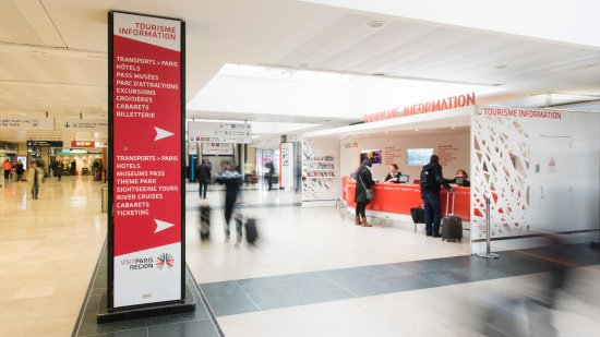 Point Information Tourisme - Orly Sud