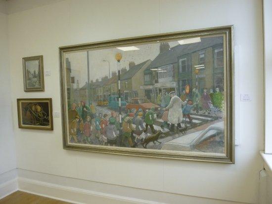 ‪‪Spennymoor‬, UK: School crossing Norman Cornish‬