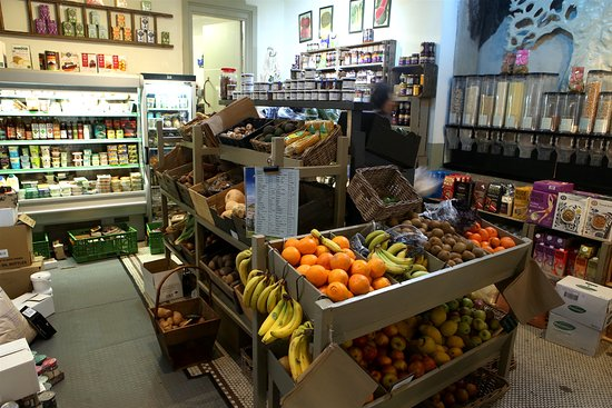 Frome, UK: More produce from 'next door'.