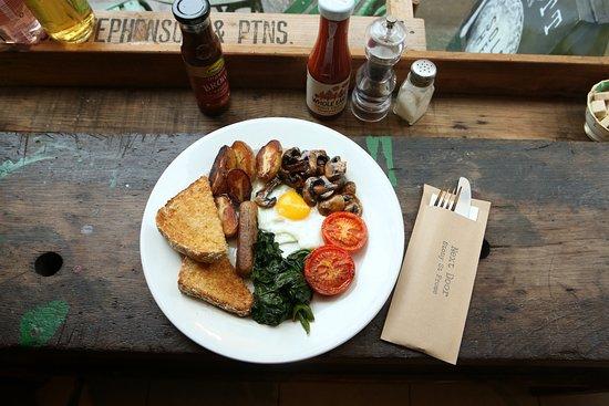 Frome, UK: Breakfast