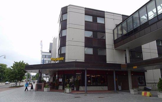 Frans & Sandra: Downstairs of Sokos Hotel Alexandra