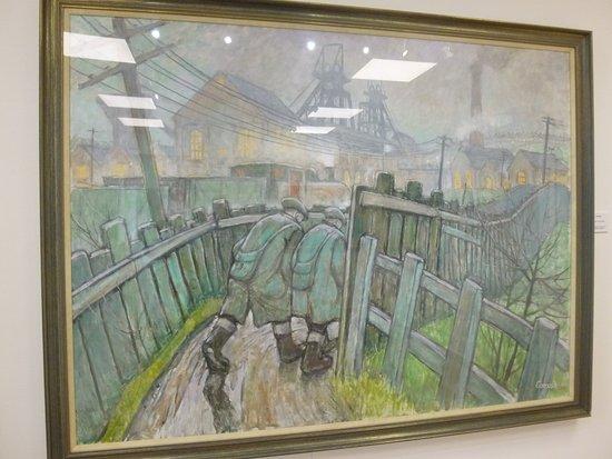 Spennymoor, UK: Miners going to work Norman Cornish