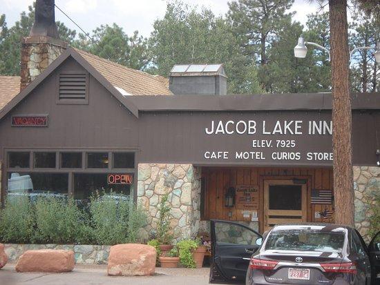 Jacob Lake, AZ: Elev. 7925 ... refreshing in summer
