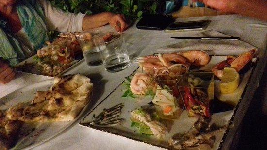 Castrocaro Terme e Terra del Sole, Italia: antipasto di pesce