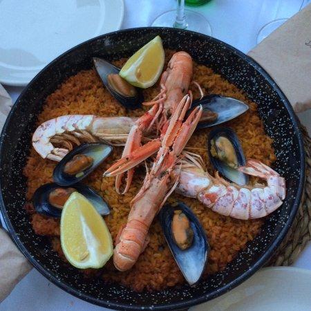 La Eliana, Spanien: Paella de moriscos