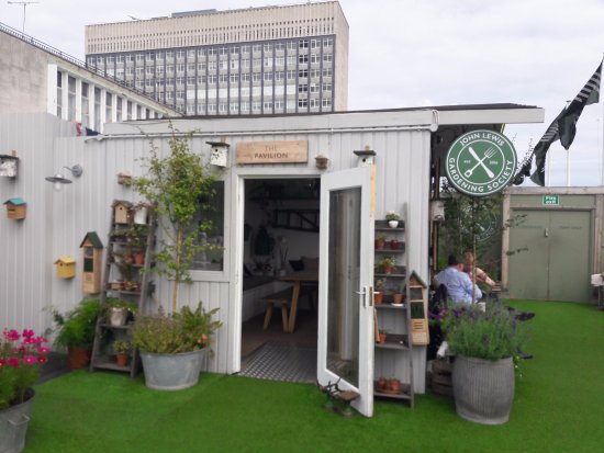 Garden Sheds John Lewis garden shed hideaway above oxford street - picture of john lewis