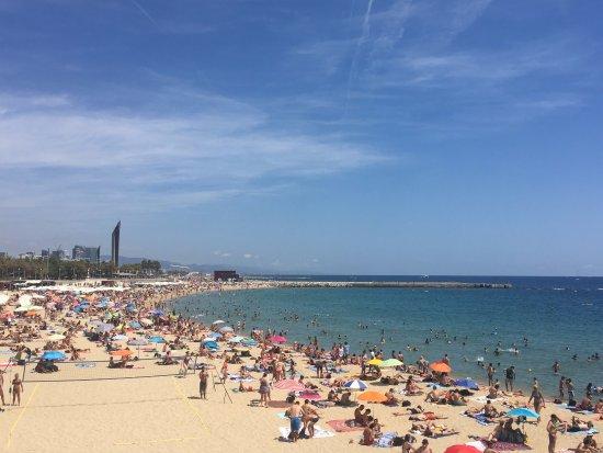Eric Vökel Sagrada Familia Suites: One of many beaches within 20 minutes metro - 15 minutes bus