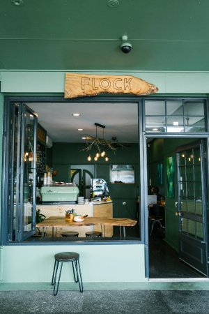 Flock Eatery: Shop Front