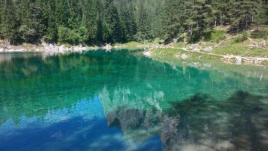 Oberort, Αυστρία: lago ad agosto