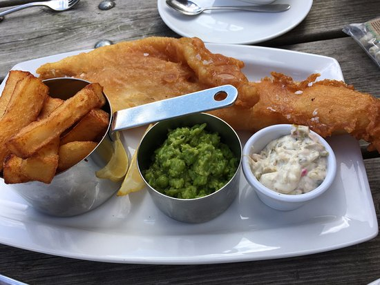 Escrick, UK: Great fish and chips
