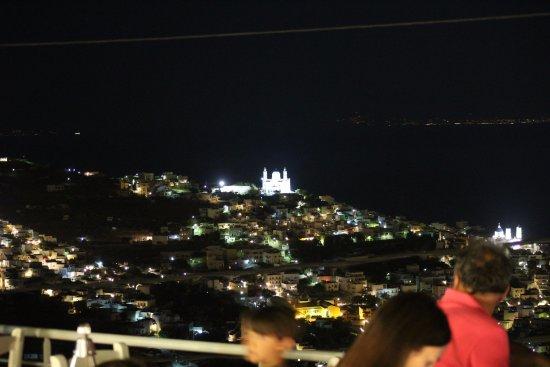 Panoramablick Ermoupolis, Syros