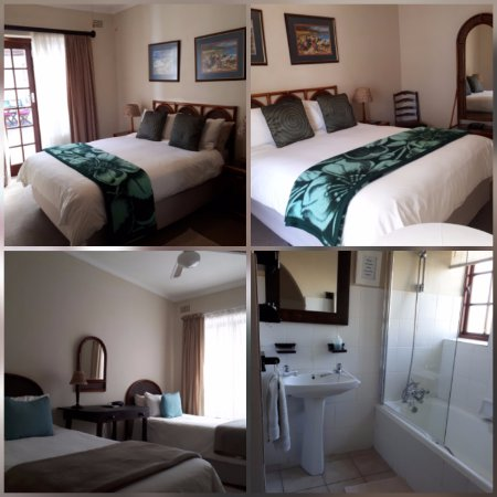 Bloubergstrand, Sudáfrica: Family unit sleeps 2 adults and 2 children under 12 years.  2 rooms with 1 bathroom.