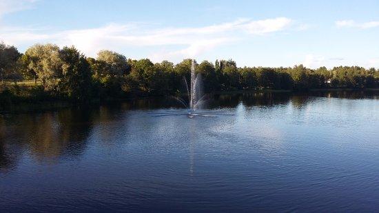 Kouvola, Finlandia: Река рядом с Отель Соммело