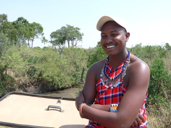 Olderkesi Private Reserve, Kenia: Our fantasic and knowledgeable guide Leturra