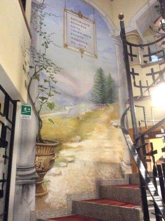 Hotel Miravalle: Particolari dell'Interno hotel