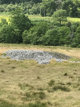 Kilmartin, UK: a burial mound