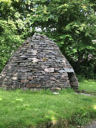 Kilmartin, UK: a reconstruction of a early monk's cell