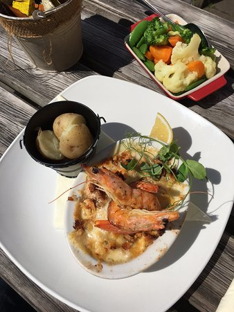 Hutton le Hole, UK: Fish Mornay
