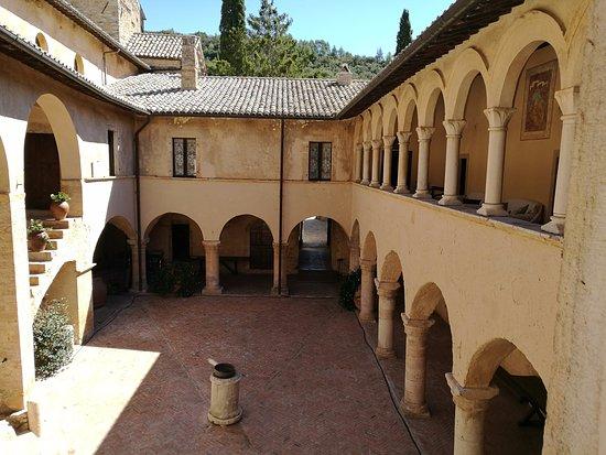 Ferentillo, Italy: Chiostro