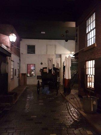 Salford, UK: Victorian Street