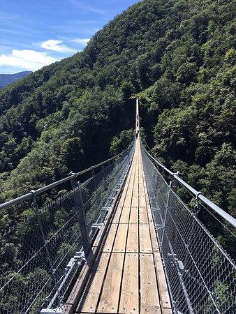 Ponte tibetano - Sementina