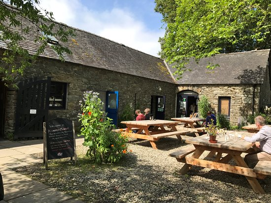 Kilmartin, UK: the cafe