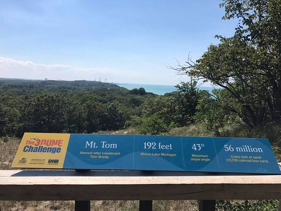 Chesterton, IN: Atop Mt. Tom dune