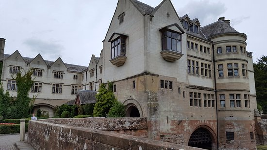 Coombe Abbey Hotel: Note the Sundials on the corner of the building