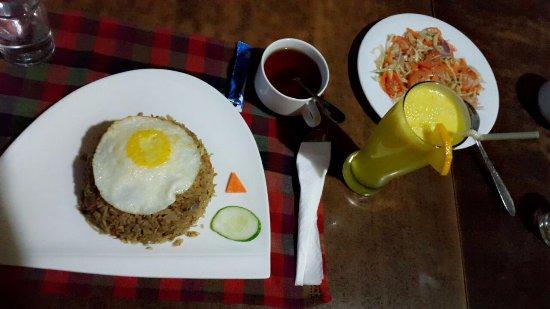Maafushi Inn: The Dinner