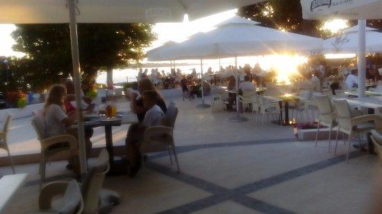 Fazana, Croatia: View from restaurant