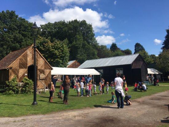 Farnham, UK : Activity Thursday at Rural Life Centre