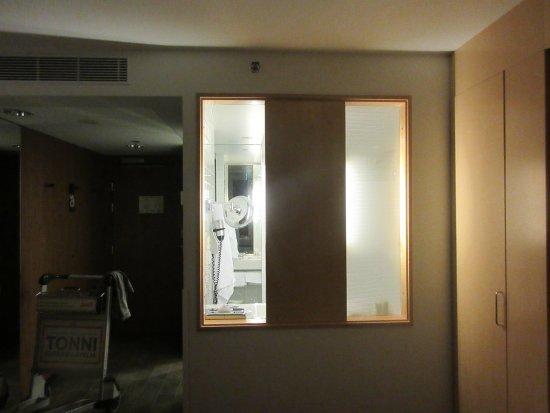 Vantaa, Finlandia: Bathroom 'Transparency'