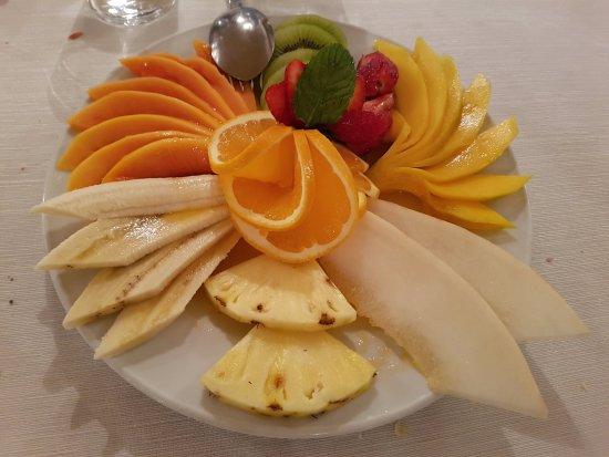 Ensalada de frutas del RIBAMAR