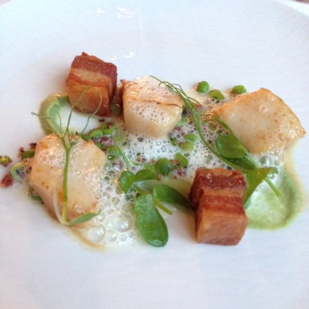 Llandderfel, UK: Roast Scallops