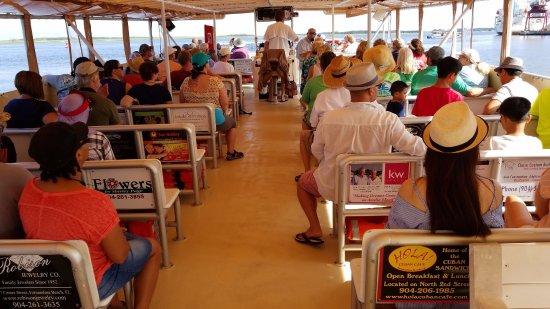 Fernandina Beach, FL: on the boat