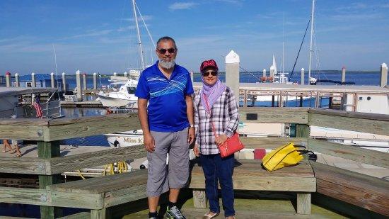 Fernandina Beach, FL: on the pier waiting for departure