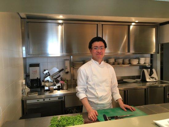 Le chef en cuisine billede af nakatani paris tripadvisor for Recherche chef de cuisine paris