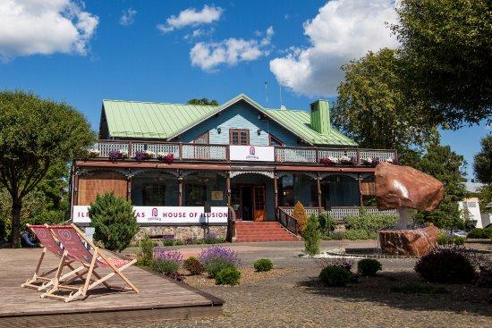 Palanga, Lithuania: Iliuziju namas Eureka