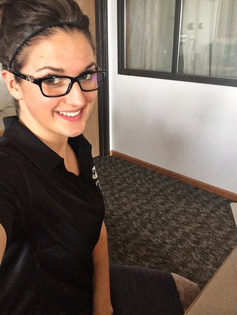 Kalona, IA: We can't wait to greet you with a friendly smile at the front desk!